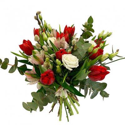 skicka blommor luleå